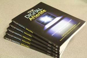Stack of Your Digital Afterlife books